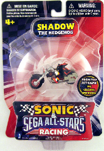 Sonic Sega All-Stars Mini Racing - 1.5-Inch Shadow