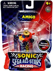 Sonic Sega All-Stars Mini Racing - 1.5-Inch Amigo Racer