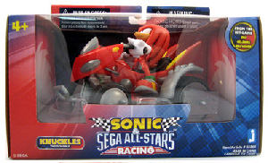 Sonic Sega All-Stars Racing - 5-Inch Knuckles with ATV