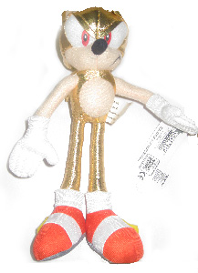 Sonic The HedgeHog 8-Inch Plush - Super Sonic(Gold)