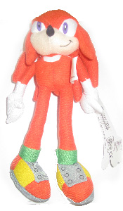 Sonic The Hedgehog 8-Inch Plush - Knuckles