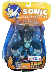 Sonic Unleashed - Sonic Werehog Yellow Package