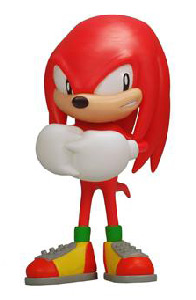 Sonic the Hedgehog - 4-Inch PVC Vinyl - Knuckles
