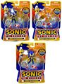 3-Inch Sonic The Hedgehog - Set of 3 [Sonic, Sonic Black Knight, Tails]