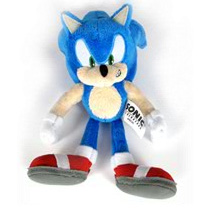 Sonic The Hedgehog - 7-Inch Sonic Soft Plush