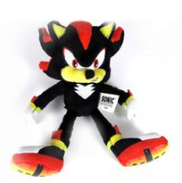 Sonic The Hedgehog - Shadow 7-Inch Soft Plush