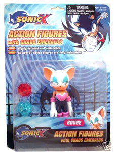 Sonic X Classic With Chaos Emerald: Rouge The Bat