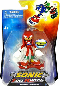 Sonic Free Riders - 3-Inch Knuckles