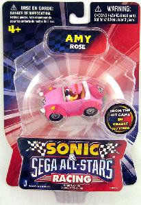 Sonic Sega All-Stars Mini Racing - 1.5-Inch Amy