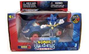 Sonic Sega All-Stars Racing - 5-Inch Sonic With Car