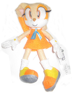 Sonic The Hedgehog 8-Inch Plush - Cream The Bunny