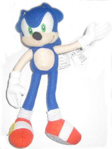 9-Inch Sonic Plush 2009 - Sonic