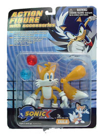 Sonic X Classic With Chaos Emerald: Tails