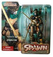 Spawn - The Samurai Wars - Collectors Club Exclusive - Lotus Angel Repaint