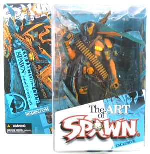 Spawn i.07 Blue Repaint - Exclusive