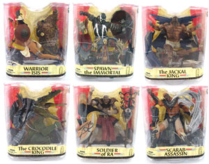 Spawn Series 33 - Age of Pharaohs Set of 6