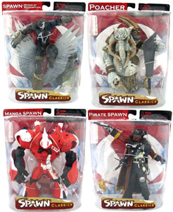 Spawn Series 34 Neo-Classic Set of 4