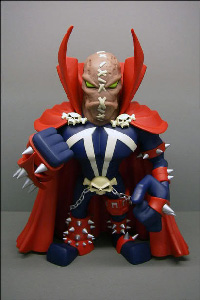 SPAWN HAMBURGER HEAD VCD