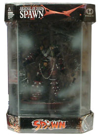Arsenal of Doom Spawn in Display Case
