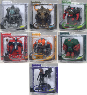 Spawn Series 32 - Adventure of Spawn 2 - Set of 7