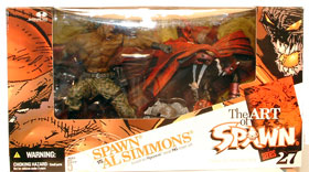Spawn VS. Al Simmons Deluxe Boxed Set