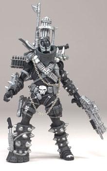 3-INCH Spawn IV Black White Repaint