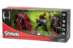 SPAWN 3-PACK: Weapons of Mass Destructions