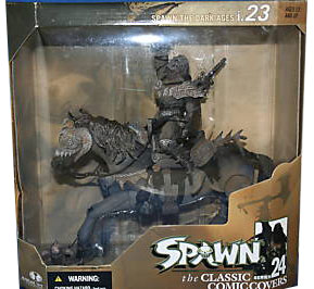 SPAWN THE DARK AGES I.023 DELUXE BOX SET