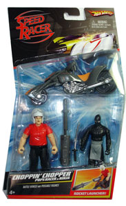 Speed Racer - Choppin Chopper - Pops Racer and Ninja
