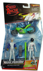 Speed Racer - Rockin Rocketbike - Speed Racer and Taejo Togokhan