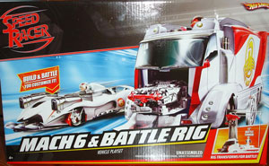 Speed Racer Mach 6 and Battle Rig