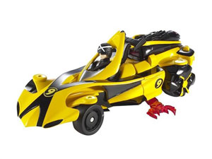 Speed Racer Deluxe Battle Vehicle With Figure - Racer X Race Car