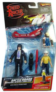Speed Racer - Battle Board - Royalton, Spritle, Chim-Chim