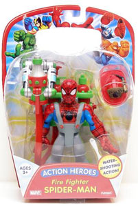Action Heroes - Fire Fighter Spiderman