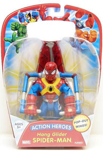 Action Heroes - Hang Glider Spiderman