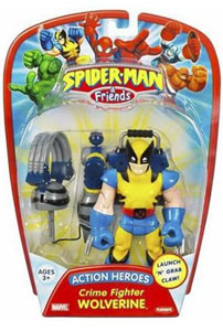 Action Heroes - Crime Fighter Wolverine