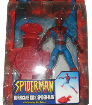 Hurricane Kick Spider-Man