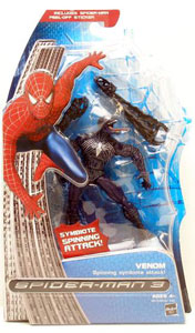 Spiderman 3 - Venom with Spinning Symbiote Attack