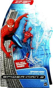 Spiderman 3 - Spiderman with Spinning Webs
