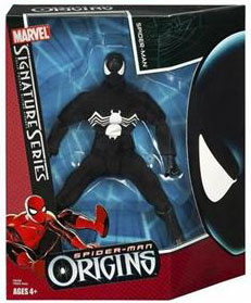 Signature Origins - Black Costume Spiderman
