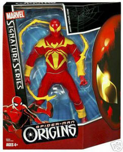 Signature Origins - Iron Spider-Man
