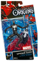 Hero Action - Secret Wars Black Costume Spider-Man