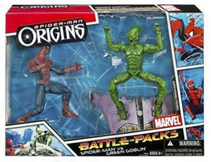 Spiderman Origins Battle Pack - Green Goblin and Spiderman