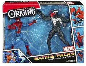 Spiderman Origins - Battle Pack: Venom and Spiderman