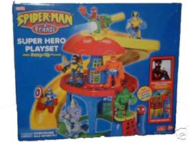 Spider-Man and Friends Super Hero Playset
