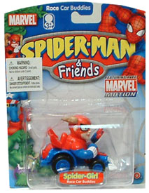 Spider-Girl Playset Race Car Buddies