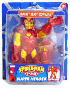 Rocket Blast Iron Man