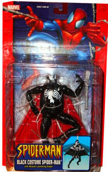 Black Costume Spider Man