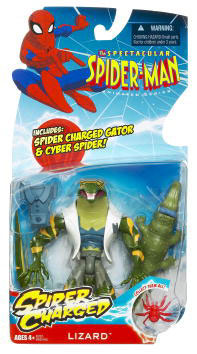 Spectacular Spider-Man: Lizard with Spider Charged Gator