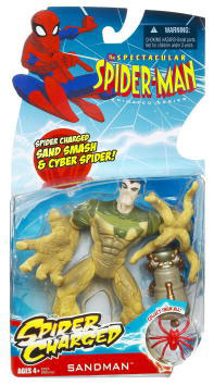 Spectacular Spider-Man: Spider Charged Sand Smash Sandman